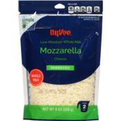 Hy-Vee Mozzarella Low-Moisture Whole Milk Shredded Cheese