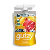 Gutzy Organic Banana Berry & Pomegranate Gut Healthy Snack, Prebiotics