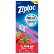 Ziploc Slider Storage Bags Gallon