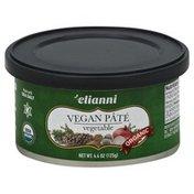 Elianni Vegan Pate, Vegetable, Organic, Jar