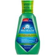 Crest Pro Health Multi Protection CPC Antigingivitis Antiplaque Mouthwash Invigorating Clean Mint  Oral Rinse