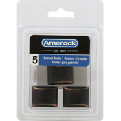 Amerock Cabinet Knobs, Oil-Rubbed Bronze, 1.25 Inches