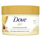 Dove Scrub Crushed Almond & Mango Butter