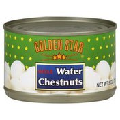 Golden Star Water Chestnuts, Whole
