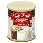 Caffe D'Vita Cappuccino, Premium Instant, Sugar Free, Mocha