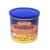 Key Food Lightly Salted Party Peanuts