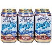 Blue Sky Certified Organic Root Beer Encore Soda