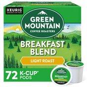 Green Mountain Coffee Roasters Breakfast Blend K-Cup Pods