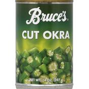 Bruce's Okra, Cut