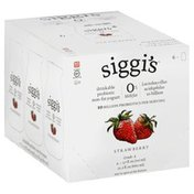 Siggi's Yogurt, Drinkable Probiotic, Non-Fat, Strawberry