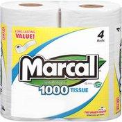 Marcal® 1-Ply 1000-Sheet Rolls Bathroom Tissue