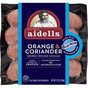 Aidells Orange & Coriander Smoked Chicken Sausage, Made With Blue Moon Beer
