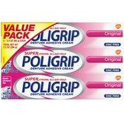 Poligrip Original Denture Adhesive Cream, Original Denture Adhesive Cream
