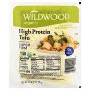 Wildwood Tofu, Organic, High Protein, Super Firm