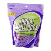 CareOne Throat Relief Pops Grape - 12 CT