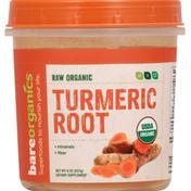 Bare Organics Turmeric Root, Organic, Raw