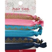 Ela Hair Ties, Assorted Colors