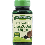 Nature's Truth Activated Charcoal, 520 mg, Capsules
