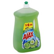 Ajax Dish Liquid, Vinegar + Lime, Value Size
