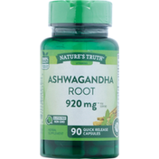Nature's Truth Ashwagandha Root, 920 mg, Quick Release Capsules