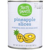 That's Smart! Pineapple Slices In Pineapple Juice