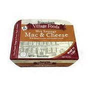 Francetown Village Foods Mac & Cheese With Hot Sausage