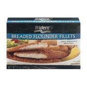 Trident Seafoods Breaded Flounder Fillets