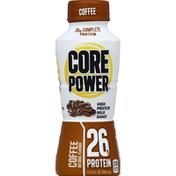 Core Power Milk Shake, High Protein, Coffee