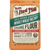 Bob's Red Mill Flour, Organic, Whole Wheat, Pastry