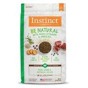 Instinct Be Natural Real Lamb & Oatmeal Recipe Dry Dog Food