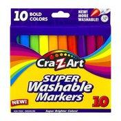 Cra-Z-Art Washable Markers Super - 10 CT