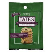 Tate's Bake Shop Tiny Cookies Oatmeal Raisin