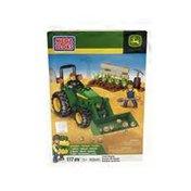 Mega Bloks John Deere Farm Tractor Building Set