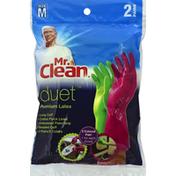 Mr. Clean Gloves, Premium Latex, Medium