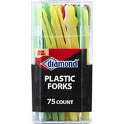 Diamond Forks, Plastic