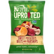 Kettle Brand® Uprooted Sweet Potatoes Beets and Parsnips with Sea Salt Vegetable Chips
