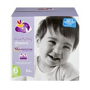 Always My Baby Diapers Size 6 (35+ lbs) - 64 CT
