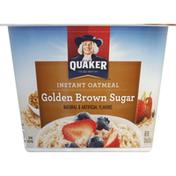 Quaker Oatmeal, Instant, Golden Brown Sugar