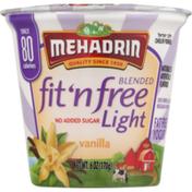 MEHADRIN fit 'n free Light Blended Yogurt Vanilla