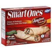 Smart Ones Smart Mini Wraps, Chicken & Mushroom Florentine