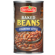 Our Family Country Style Baked Beans