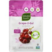 Natures Touch Grape-2-Go! Juicy Red Grapes Nature's Touch Grape-2-Go! Juicy Red Grapes Frozen Fruit