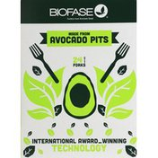 Biofase Forks, Avocado Seed