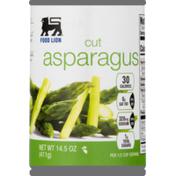 Food Lion Asparagus, Cut, Can