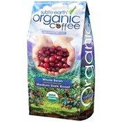 Subtle Earth Organic Whole Bean Medium Dark Roast Coffee