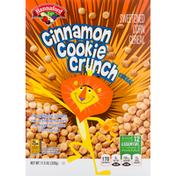 Hannaford Cereal, Cinnamon Cookie Crunch