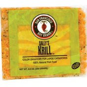 SF Bay Coffee Sally's Krill Color Enhancer for Large Carnivores 100% Natural Fish Food