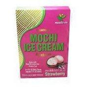 Maeda En Ice Cream, Mochi, Strawberry