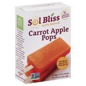 Sol Bliss Pops, Carrot Apple