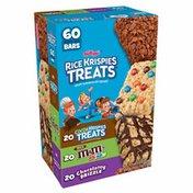 Kellogg's Rice Krispies Treats Marshmallow Snack Bars, Chocolate Lovers, Variety Pack